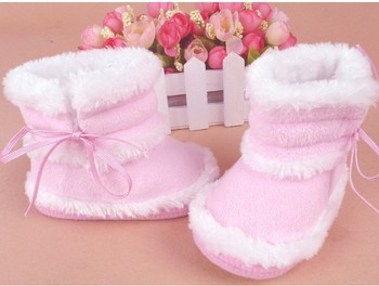 Free Shipping 2014 winter high quality baby snow warm boots slip toddler baby shoes 3 size Free Shipping boots C0097