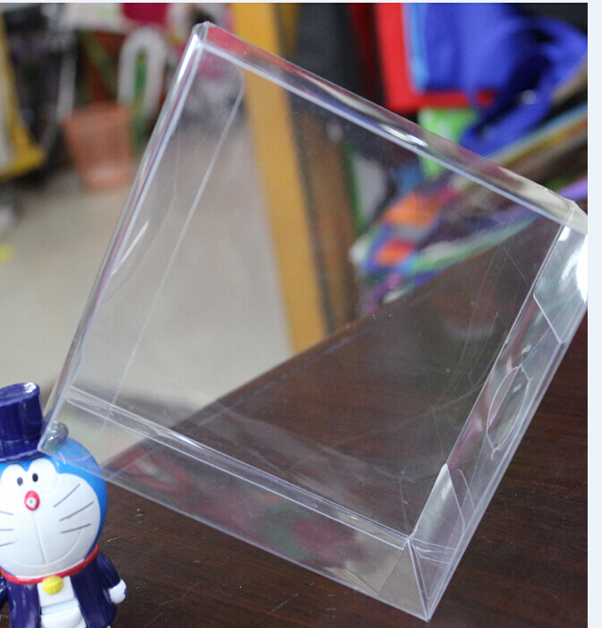 Size:11*11*7cm, food packaging box , pvc cupcake box , clear plastic jewellery boxes(China (Mainland))