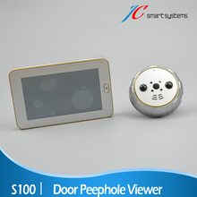 Mini Camcorder Smart Door Viewers 2MP Camera Video Surveillance Peephole Support Motion Detect & IR Infrared For Door Security
