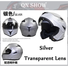 2016 New Flip Up Racing helmet Modular Dual lens Motorcycle Helmet full face Safe helmets Casco capacete casque moto S M L XL(China (Mainland))