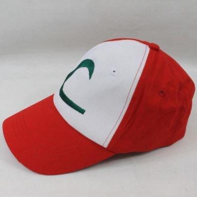 New Visor Cap POKEMON ASH KETCHUM COSTUME Cosplay Hat(China (Mainland))