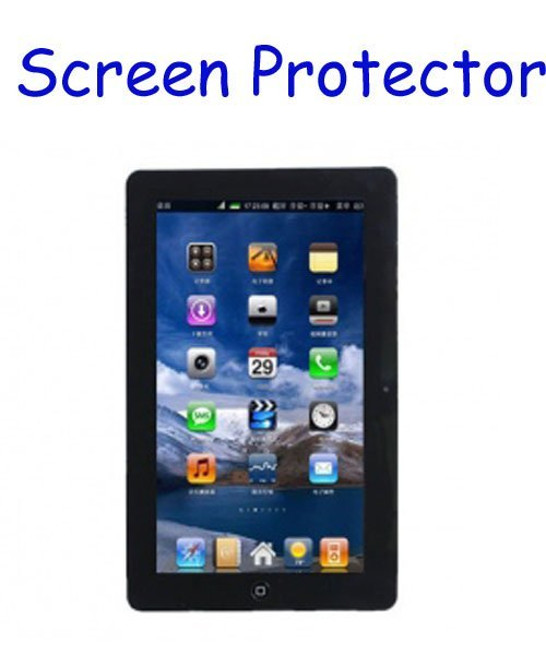 10pcs LCD screen protector screen guard for Flying Touch II 10 inch Google Android 2.1 GPS MID Tablet PC