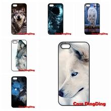 Cases Cover Wolf Blue Eyes Moto X1 X2 G1 E1 Razr D1 D3 iPhone 4 4S 5 5C SE 6 6S Plus Apple iPod Touch - Phone Ding store