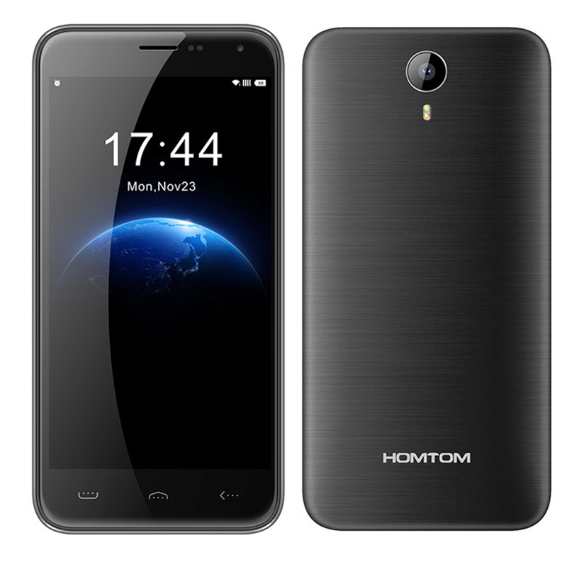 "Original HOMTOM HT3 Pro MTK6735 1.3GHz Quad Core 5.0"" HD Screen 2GB/16GB Dual Sim Mobile Phone Android 5.1 4G LTE Smartphone"