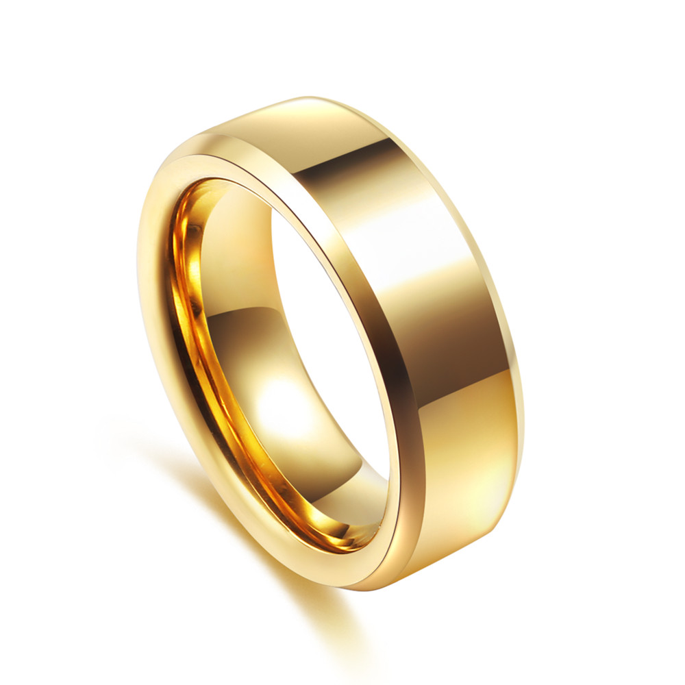 fine jewelry Male tungsten ring lovers pinky ring fashion Tungsten carbide ring for men(China (Mainland))