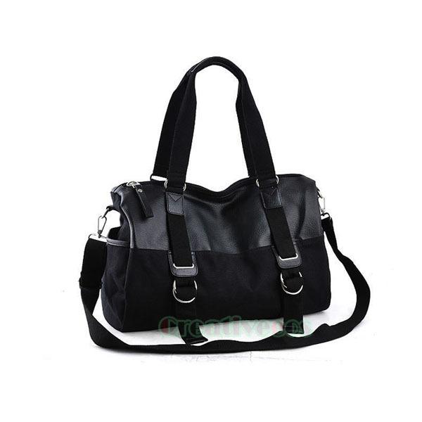 Men's  Fashion Canvas Travel Hiking Messenger Shoulder Cross Body Tote Casual Handbag Bag