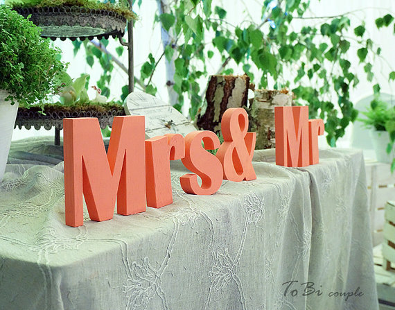 Buy mr and mrs wedding sign mr mrs pvc for Mr price home christmas decor