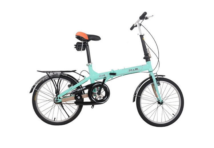 Portable 20″ Folding Bike Travel bike Folding Mini Bicycle For Man ...