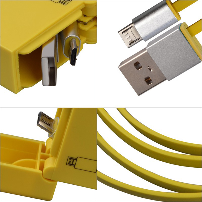 Micro USB Charger Data Cable Lighter Retract Mobile Phone Cable For Samsung Galaxy S7 active,Galaxy J3 Pro(China (Mainland))