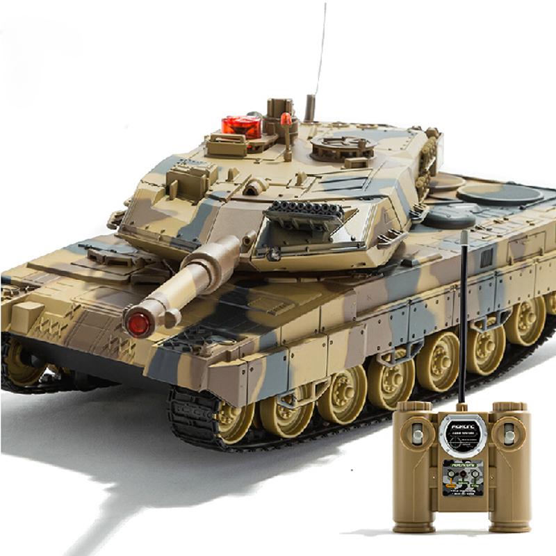 Big size musical lighting wireless radio remote control tanks rc tank toys(China (Mainland))