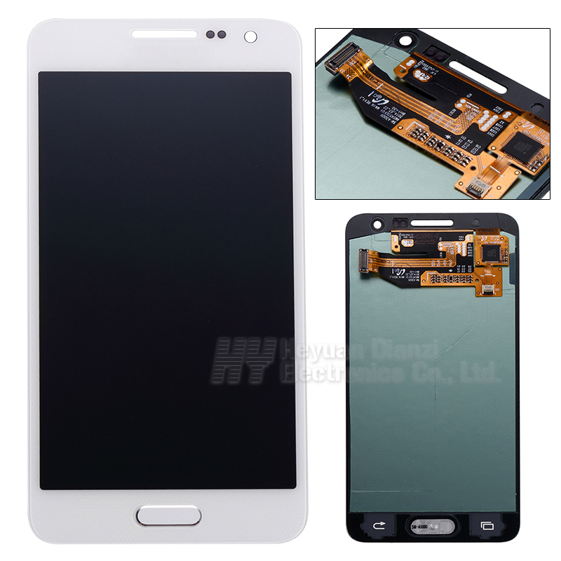 Фотография 5pcs/lot Wholesale 100% Original For Samsung galaxy A3 A300X A300 A300H A300F lcd display touch screen digitizer  freeshipping