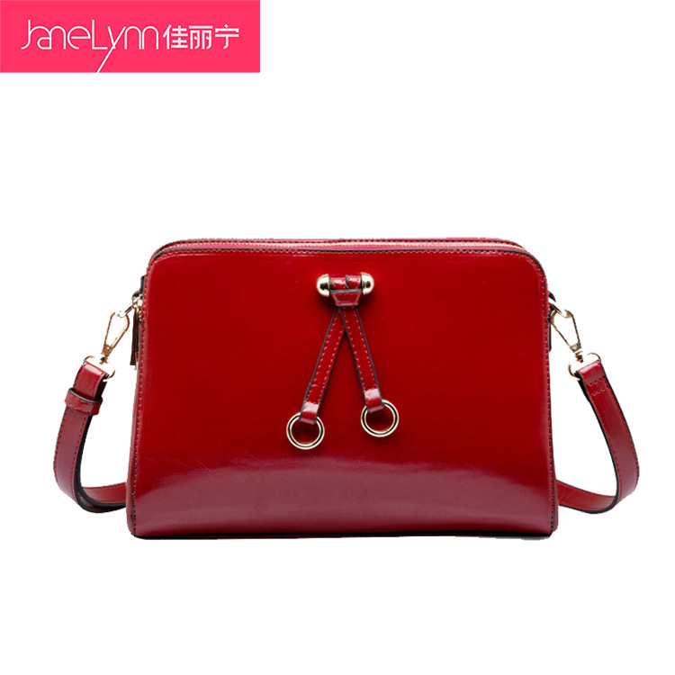 Fashion women's brand handbag new brand lady's handbag PU oil waxing leather navy bag one shoulder handbag messenger bag(China (Mainland))