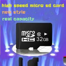 Retail Real Full Capacity 2GB 4GB 8GB 16GB 32GB Micro SD TF Card +Card Reader + Transfer Adapter TF Speicherkarte Carte memoire