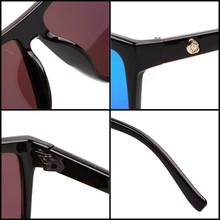 Brand New 2015 Steampunk Square Sunglasses Men SKULL Logo All Black Coating Sun Glasses Women Brand