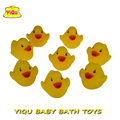 8pcs lot Bath Toys in the Bathroom Water Spray Duck for kids Soft Rubber Duck for