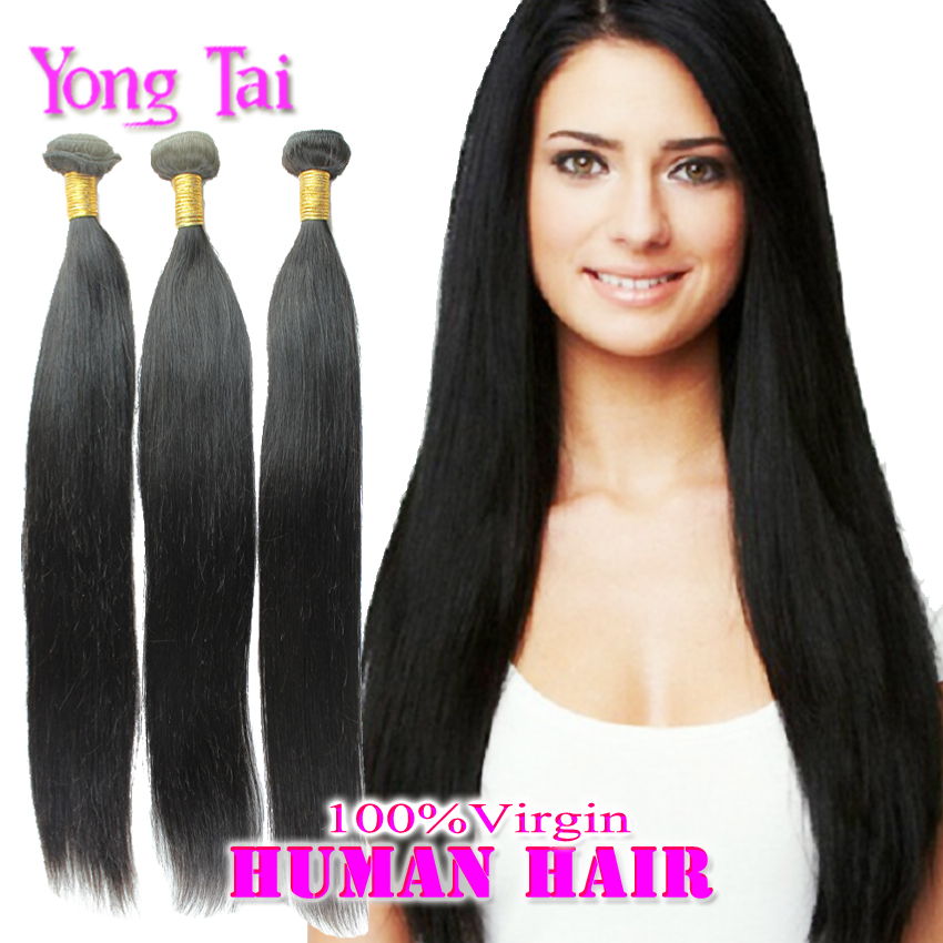 Best Straight Hair Supplier in Aliexpress Cat Walk Fashion Girl Hair US Shipping Fast Delivery Hot Selling for US Market 3 pc(China (Mainland))