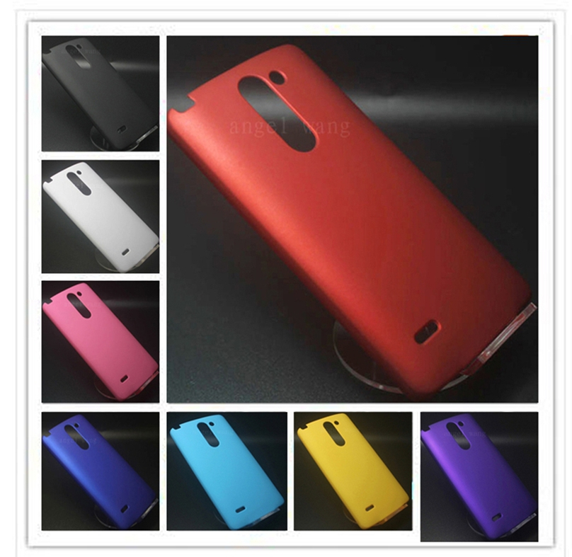 Rubber Hard Back Cover Case For LG G3 Stylus D690 Case High Quality(China (Mainland))