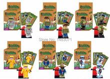 6pcs/set Game series Terraria minifigures building block sets toys hobbies(China (Mainland))