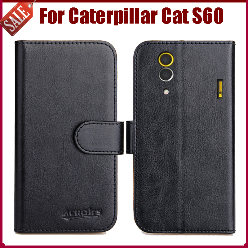 Case Design leather mobile phone case : Leather Exclusive Protective Cover Case For Caterpillar Cat S60 Case ...