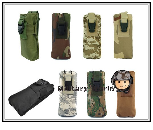 6 Colors Airsoft Tactical Military Army Wargame Combat Waterproof Nylon Molle PRC 148 MBITR Radio Magazine Accessory Pouch(China (Mainland))