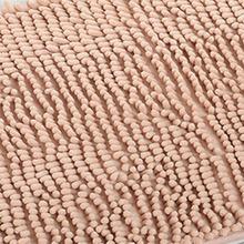 Basupply 1PC Microfiber Bathroom Mat Soft Chenille Door Rug Toilet Carpet  Anti Slip Water Absorbing