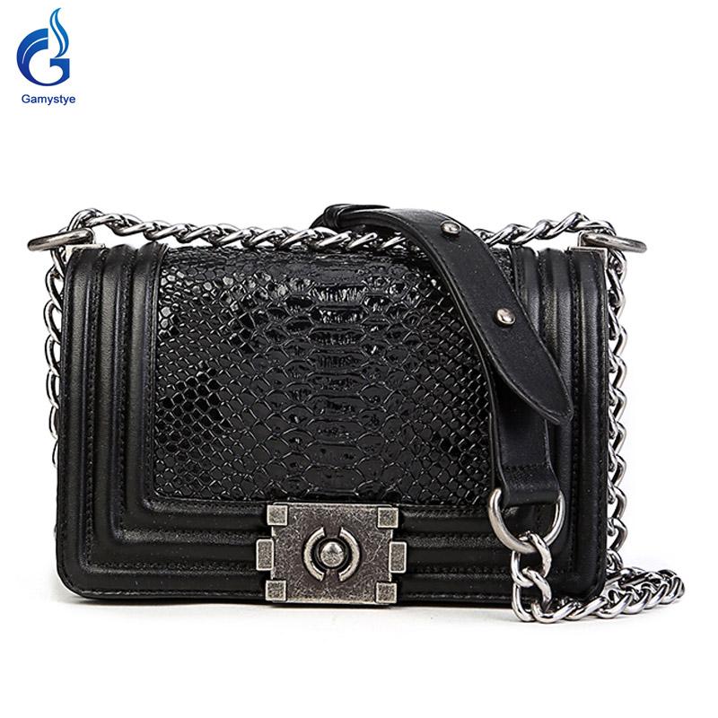 New Fashion women handbag brief snakeskin pattern shoulder bags women messenger bags leather handbags Women Crossbody Bags<br><br>Aliexpress