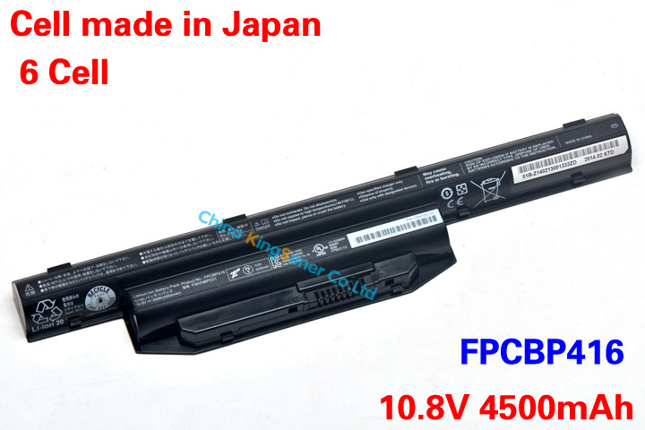 5800mAh New Original Laptop Battery for Fujitsu AH564 S904 FPCBP405 FMVNBP227 FPCBP416 FPCBP434 FMVNBP231 FMVNBP229A 6CELL<br><br>Aliexpress