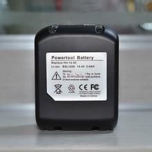 3000 мАч замена — литий-ионная батарея BSL1430 BSL1440 для Makita CJ14DS CD14DSL RB14DSL G14DSL UB18DDL UB18DL N14DSL