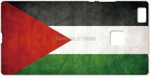Printed Palestine Flag Plastic Hard Cell Phone Cover For Huawei Honor 6 7 6X Ascend P6 P7 Mini P8 P9 Lite Mate 7 8 Mobile Case