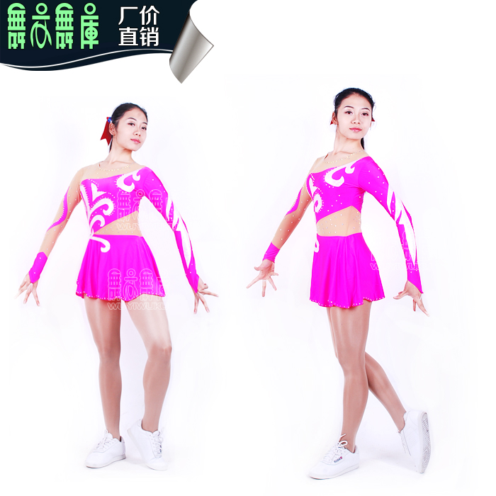 2016 athletic competition cheerleading clothing aerobics suits for girl gym costumeОдежда и ак�е��уары<br><br><br>Aliexpress