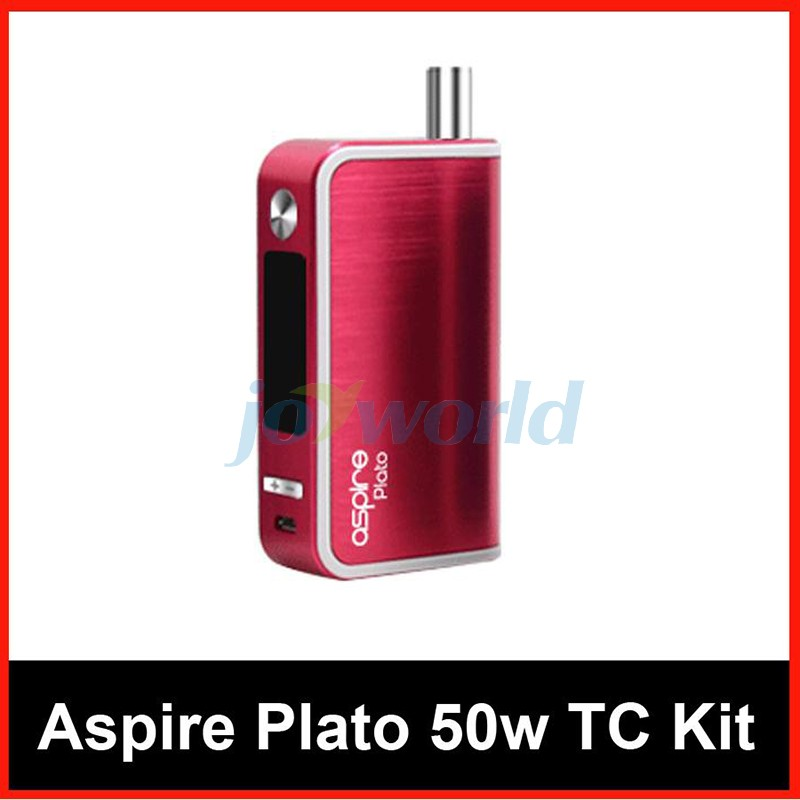 100% Aspire Plato TC Package 50W four.6ml Sub ohm atomizer Nautilus Coils with 18650 Battery vs Kanger Dripbox Nebox Starter Package YY (6)
