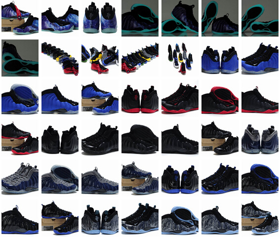 2015 2015 New Released Men Air Foamposites One Shooting Stars,Concord, ParaNorman,Pro Elephant Print White Black Pink Basketball(China (Mainland))