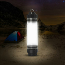 Mutilfunctional IP68 Waterproof Adjustable Brightness LED Camping Outdoor Light Camping Light With Power Bank With Charger Cable