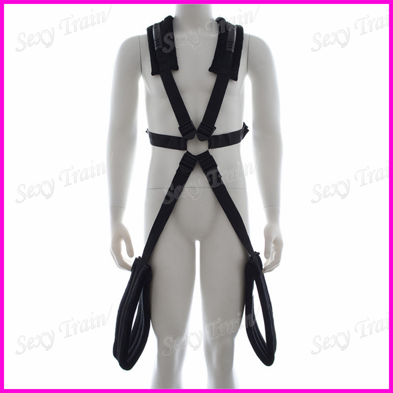 Corporality swing plolicy swing belt toys adult sex products Easy sex tape nylon cotton sex toys for couples Flirt Toy(China (Mainland))