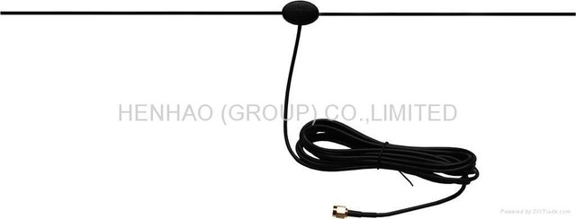 car antenna auto car digital tv antenna Aerial with Amplifier for car dvd tv