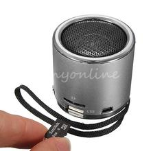 Hot Z12 Mini Cylinder Portable Speaker Amplifier FM Sound Music Radio HIFI Support USB Micro for SD TF Line in Card MP3 Player