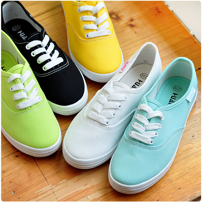 2013 fashion low breathable solid color flat shoes lazy casual canvas shoes womens sneakers<br><br>Aliexpress