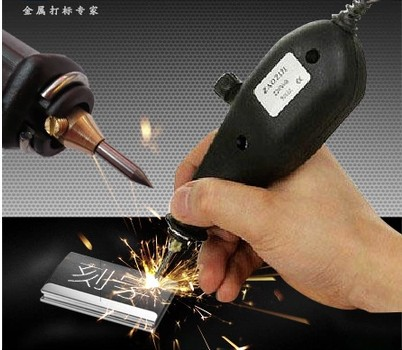Free Shipping 220V 25W Electric Engraver Metal Engraving Pen Machine for Metal Wood PVC Plastic Glass with a Carbide steel tip(China (Mainland))