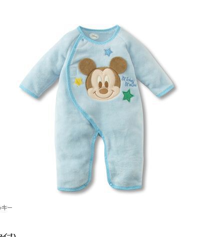 Romper newborn baby Baby girls boys Mickey Romper Playsuit one-piece spring clothing autumn cotton clothes 0-24M
