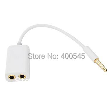 Jack 3.5 mm to Dual 3.5mm Cable male to Female Audio cables Splitter adapter Plug Stereo speaker earphone headphone(China (Mainland))
