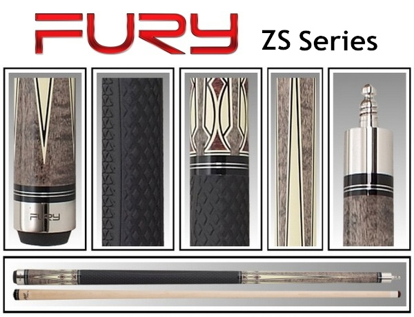 FURY Brand ZS quality billiard pool cue stick 12.75mm cue tip maple 1/2 snooker cues the pool billiards cue stick for russian(China (Mainland))