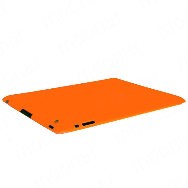 Free shipping 2015 New 8 Colors Colourful Slim Back Case Suits Smart Cover Partner for iPad 2 3 The New iPad zx*DA0005#s8(China (Mainland))