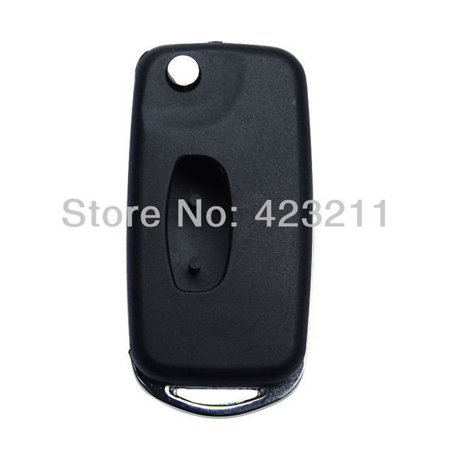 Blank Flip Remote Key Shell Case For Mitsubishi Outlander Grandis  FT0022