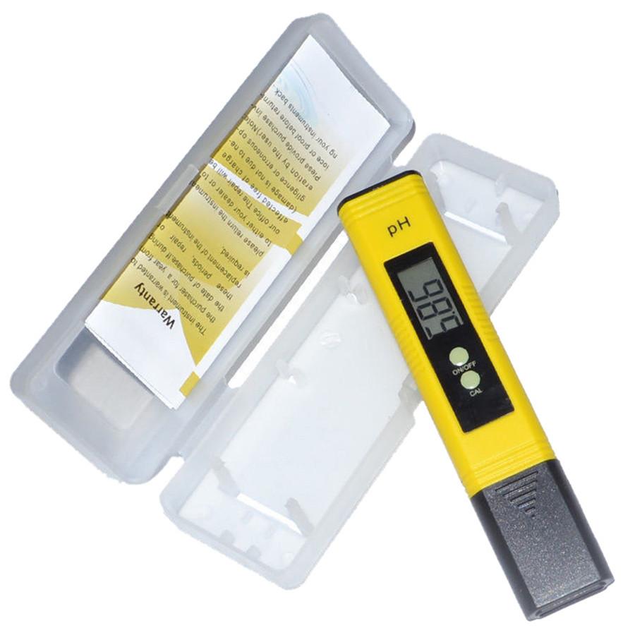 Portable Digital PH Meter Tester Aquarium Pool Water Wine LCD Pen Monitor Garden Tools Free shipping(China (Mainland))