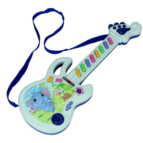Free Shipping baby Musical Instrument Music keyboard Children guitar Electronic educational music toys Early education practice(China (Mainland))