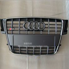 For Audi A5 S5 Style chrome frame grey Front Bumper Grill Grille Car styling 2008~2011