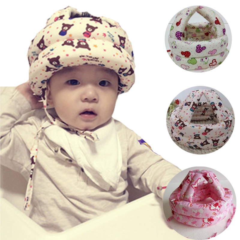 Baby learn walking Protective Helmet Protect head prevent collision fall prevention accessories newborns safety helmet hat L598(China (Mainland))