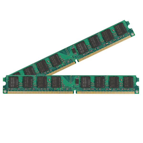 KVR800D2N6/2G PC-6400 DDR2 800 Mhz 4GB Kit (2Gx2) Memory Ram Memoria for Desktop PC Computer (Compatible with 667mhz 533mhz)(China (Mainland))