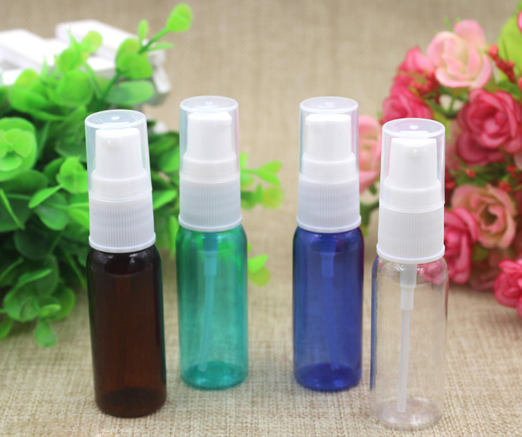 20ml Plastic Spray Parfume Perfume Bottles Travel Empty Jars For Cosmetic Bottle Refillable Bottles(China (Mainland))