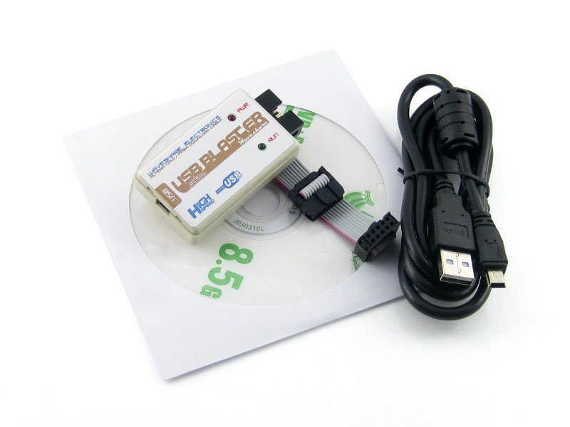 USB Blaster Download Cable FPGA CPLD USB Blaster Programmer Debugger for Cyclone & MAX from Waveshare(China (Mainland))